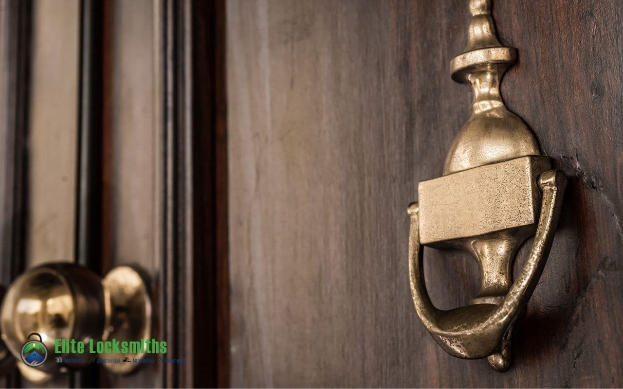Behind Knockers and Front Door Ledges